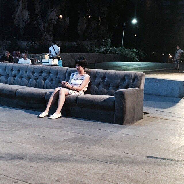 蔡凡熙在臉書上分享一張郭書瑤的獨照。 圖/擷自蔡凡熙臉書