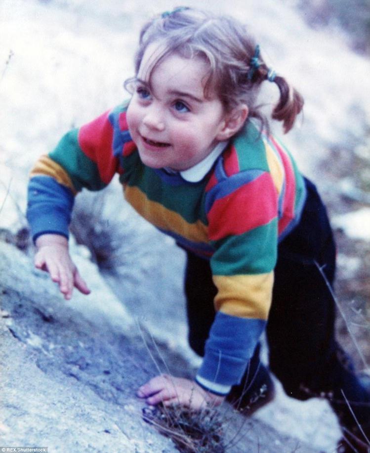 夏綠蒂的可愛容貌激似凱特王妃小時候。圖/擷自instagram