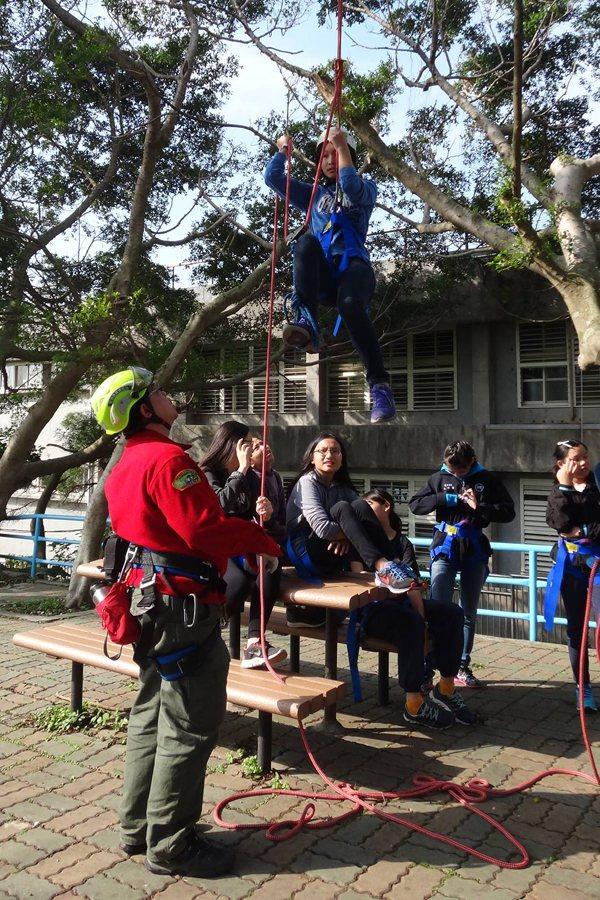 參與者的訓練在高風險的活動當中是必要的存在。 圖/作者提供