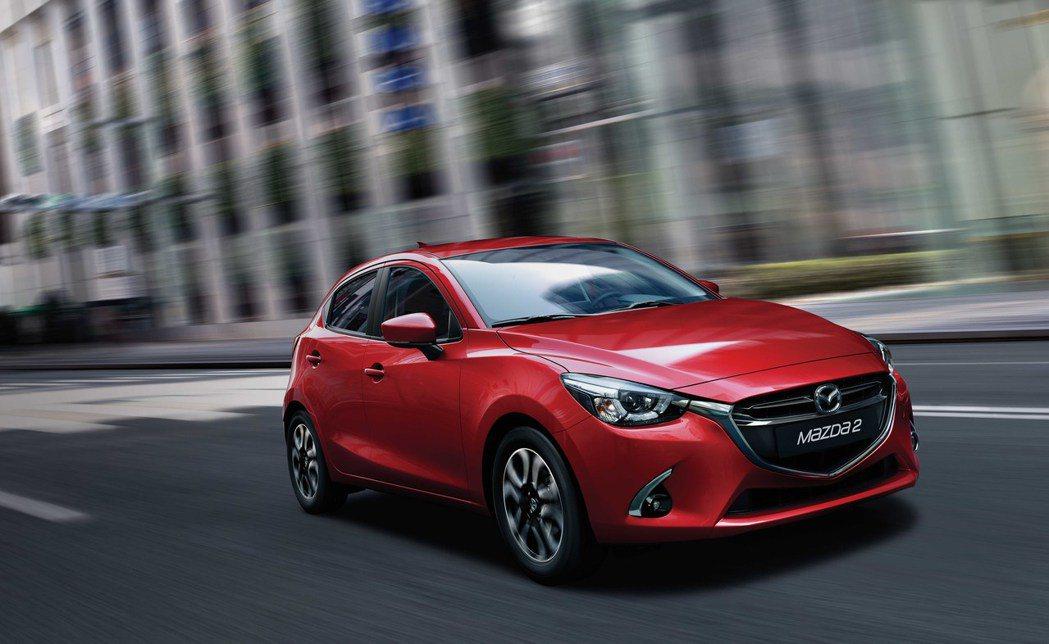 全新 18 年式 Mazda2 即日接單,全車系建議售價為新台幣 65.9 萬至 74.9 萬元。 台灣馬自達 提供