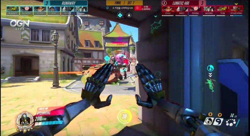 能否抓掉RyuJeHong的禪亞塔,左右了RunAway戰術的成敗。