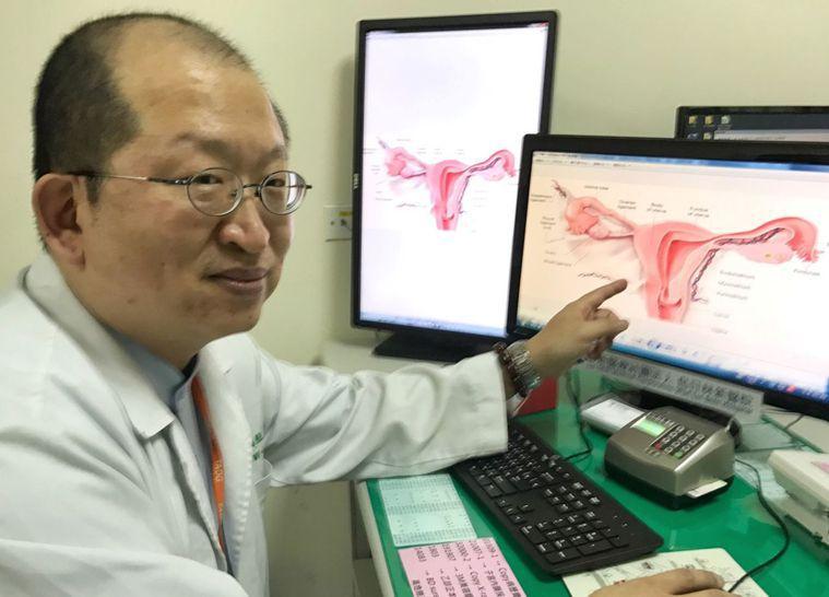 醫師凌大維建議,女性朋友應每年都能接受子宮頸癌抹片篩檢。圖/院方提供