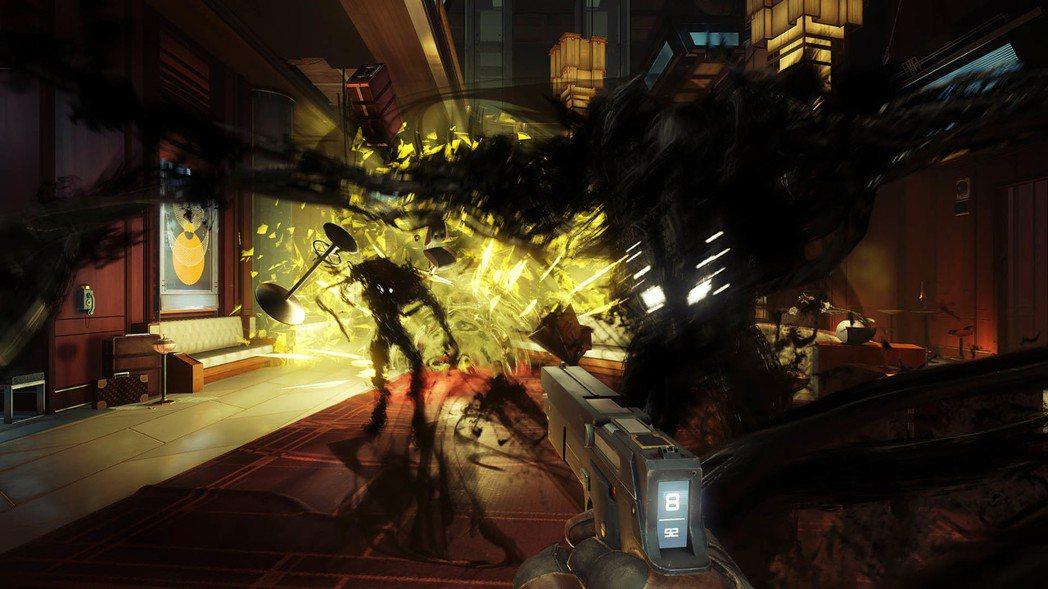 太空站遭到大批外星生物惡意入侵,你成了牠們的獵殺對象。