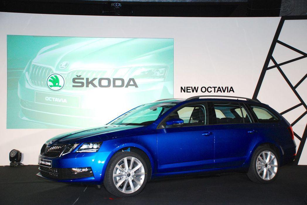 Skoda New Octavia。圖/記者林昱丞攝影