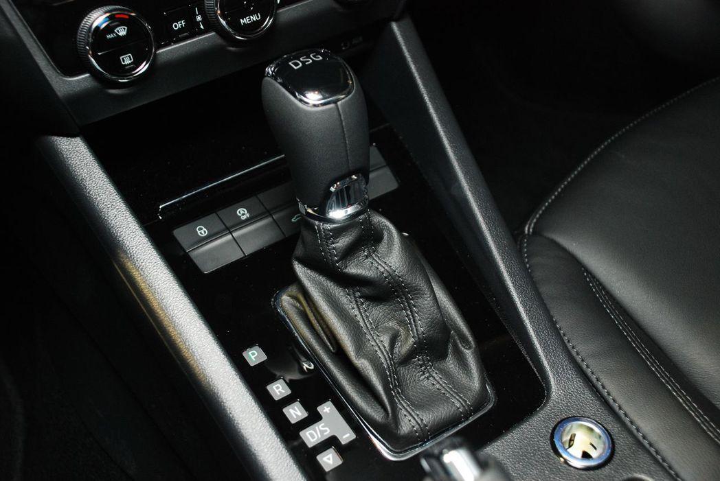 DSG 7速雙離合器自手排變速箱。圖/記者林昱丞攝影