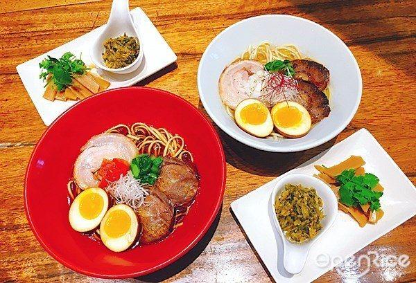 ▲一風堂即將推出全新口味,中日式混搭拉麵期間限定推出。可選擇紅燒或清燉口味。