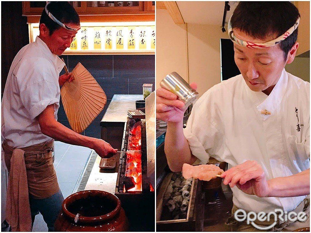 ▲每一道烤物經社長坂井康人之手細膩燒烤,便能呈現最純粹的美味!