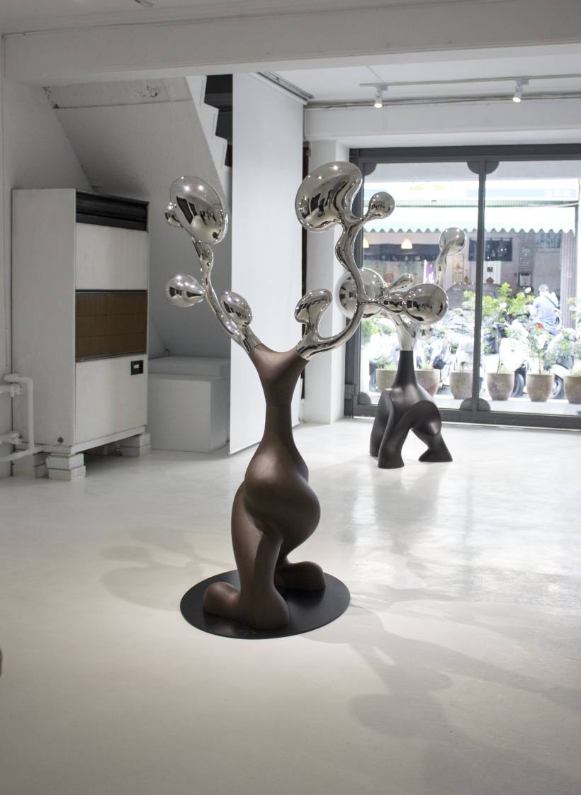 加力畫廊展場一景。圖/非池中藝術網攝。