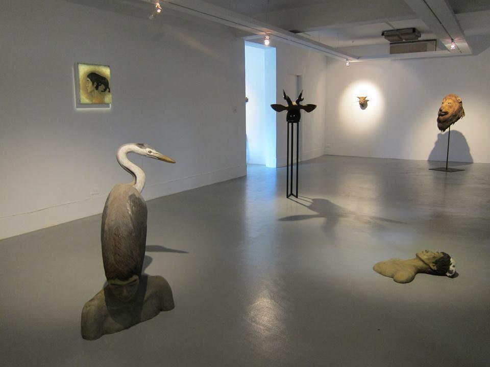 南海藝廊內部一景。圖/取自臉書。
