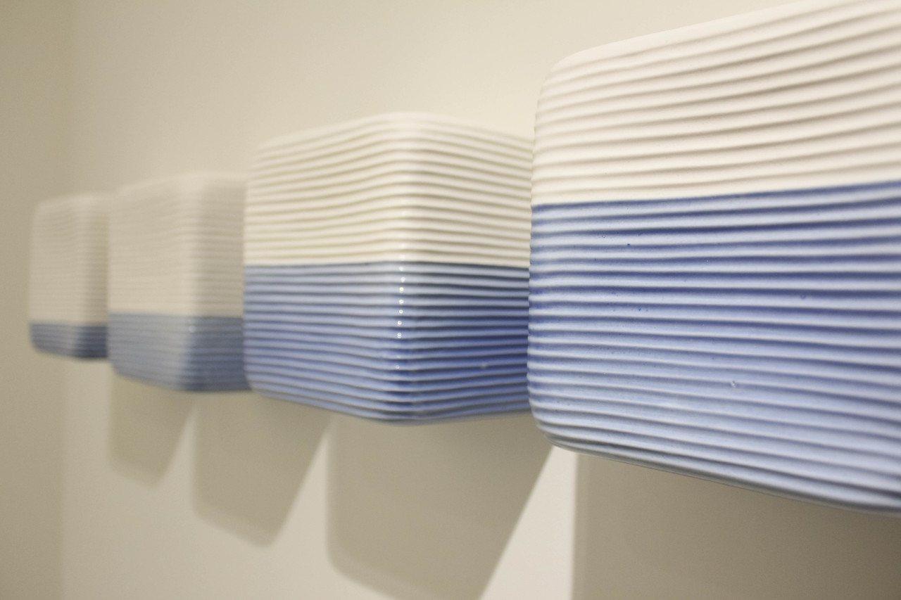韓娥璼《流動&靜止 - 沉靜》。圖/非池中藝術網攝。