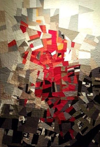 具祉良《四月的記憶》。圖/藝境畫廊提供。