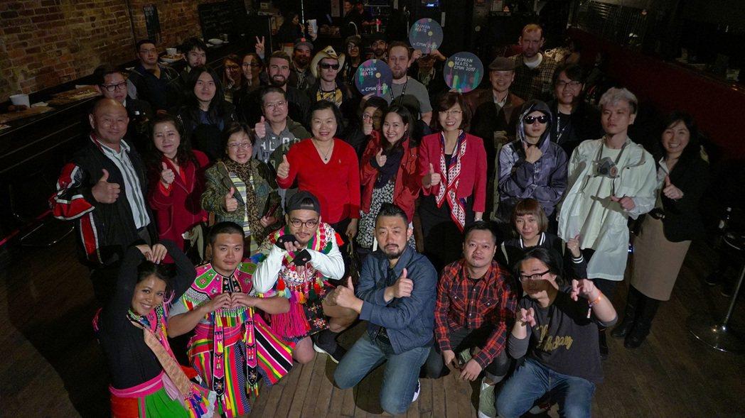 三組台灣樂團到多倫多演出。圖/Taiwan Beats