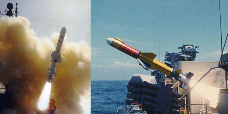 美製魚叉反艦飛彈與國產雄風2型反艦飛彈性能對照