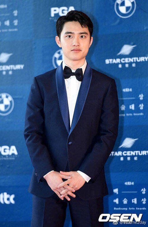 EXO成員D.O奪下電影類最佳人氣男星。圖/摘自OSEN