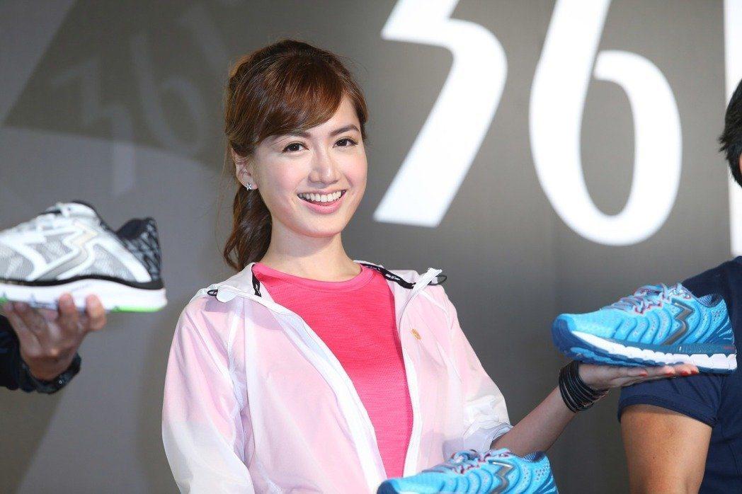 翁滋蔓出席361°秋冬新品發表會,為品牌站台。記者陳瑞源/攝影