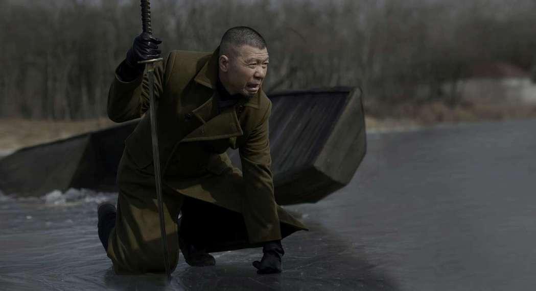 導演馮小剛在「老炮兒」詮釋北京過氣大哥六爺的英雄遲暮。圖/甲上提供