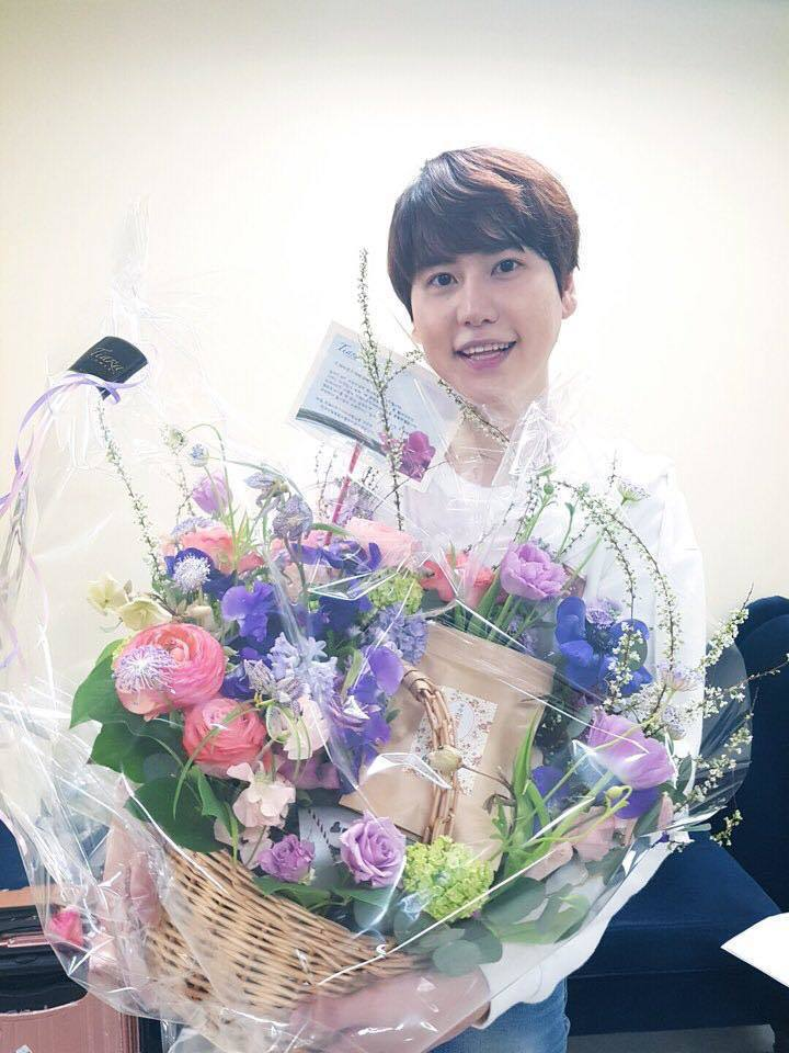 Super Junior成員圭賢將於本月25日入伍當兵。 圖/擷自신서유기臉書