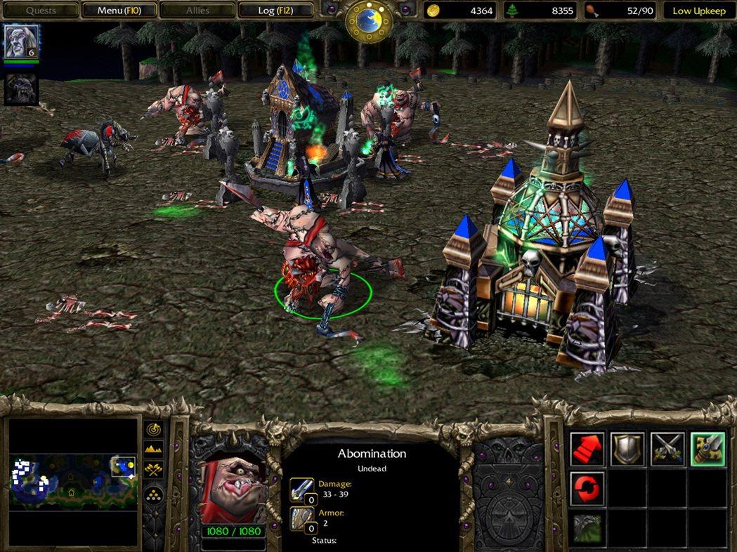 圖/《魔獸爭霸III》遊戲畫面
