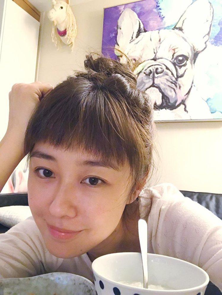 台灣藝人李維維。圖/擷自facebook
