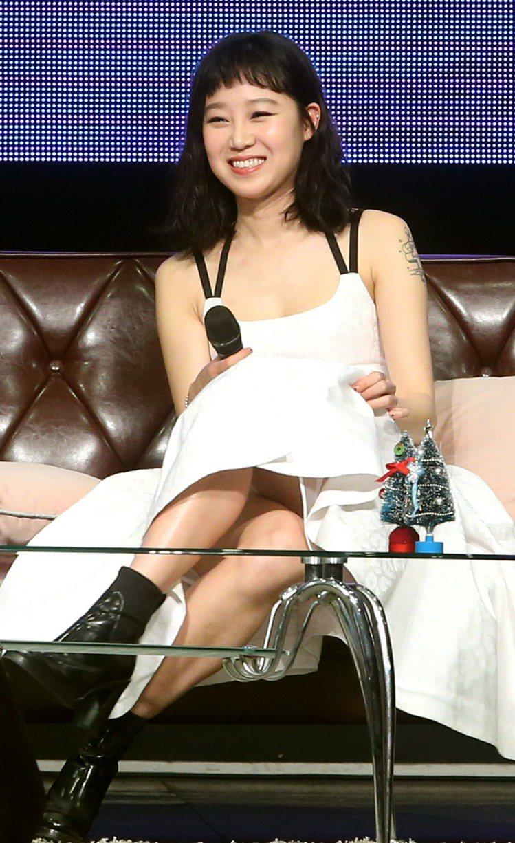 孔曉振曾為台灣場粉絲見面會剪成短瀏海。圖/記者屠惠剛攝影