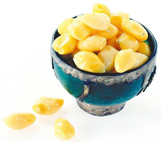 圖為銀杏的果實,又稱為白果。圖/本報資料照片