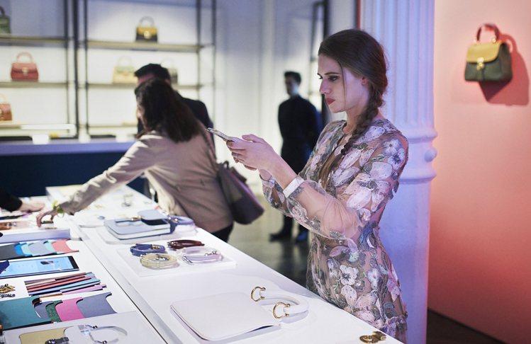 BURBERRY紐約Spring Street店鋪舉辦DK88發表與體驗活動。圖...