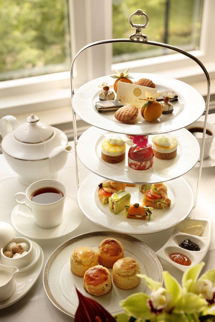 BELLAVITA期間限定Deluxe High Tea Set英式下午茶,雙人...