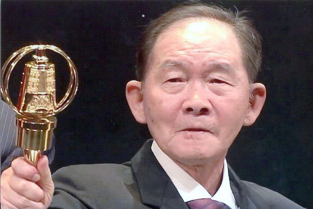 李季準獲第五十屆廣播金鐘獎頒發特別貢獻獎。圖/李季準家屬提供