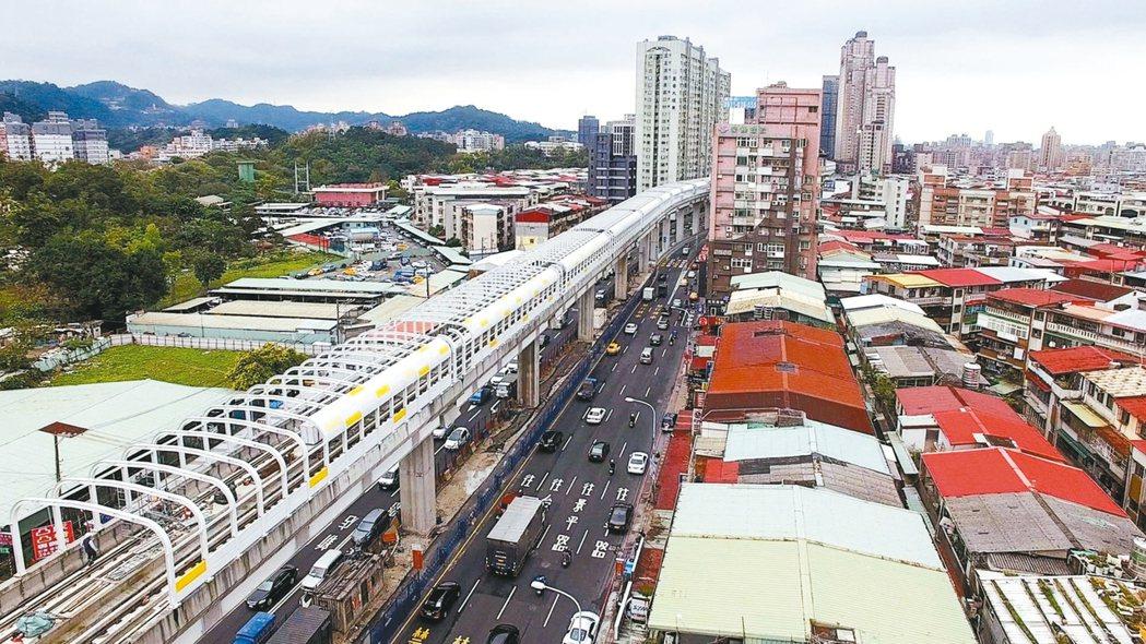 捷運環狀線行經新北市中和、板橋人口集中區。 圖/新北市捷運工程局提供