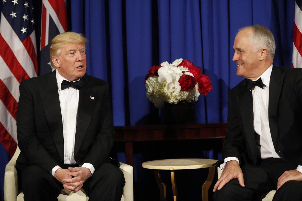 川普返紐約抗議依舊 會澳總理修補關係