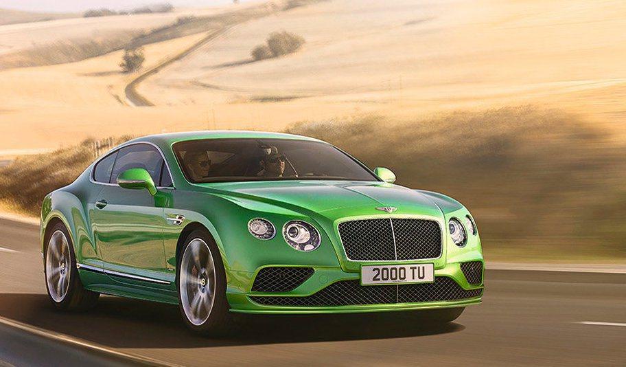 Bentley Continental。圖/Bentley提供