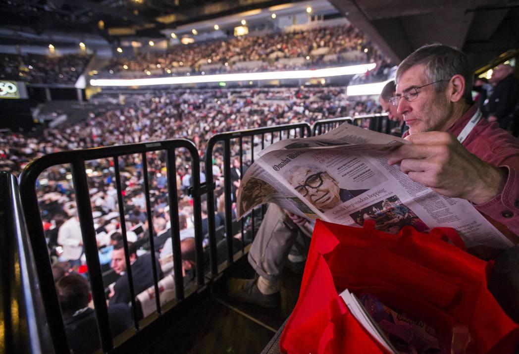 波克夏的年度股東會,近年都吸引來自全球的數萬人「朝聖」。 美聯社