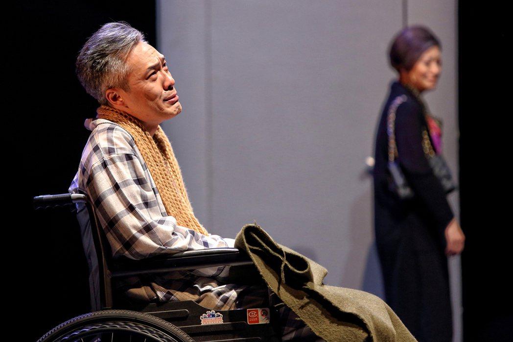 雲之凡與江濱柳重逢的情景,是《暗戀》最扣人心弦的一幕。圖/表演工作坊提供
