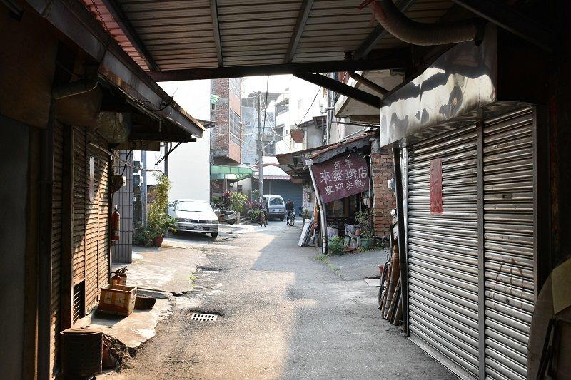 竹山打鐵巷