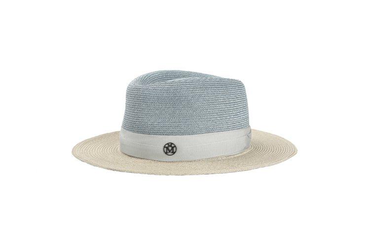 Maison Michel撞色紳士帽,售價25,000元。圖/MINOSHIN提...