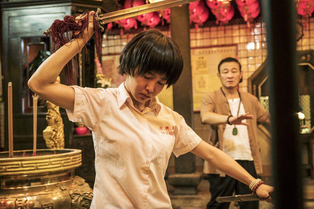 郭書瑤演出「通靈少女」翻紅。圖/HBO Asia提供