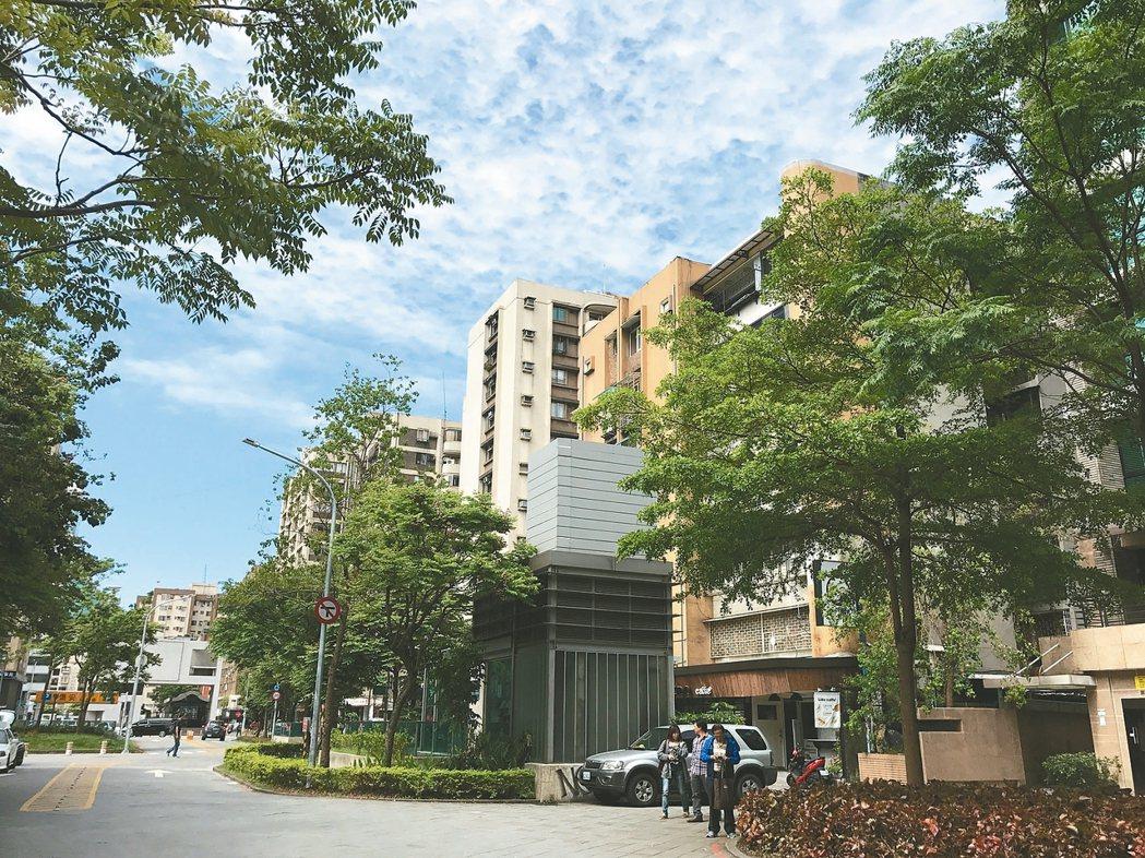 國父紀念館周邊生活圈。 記者游智文/攝影