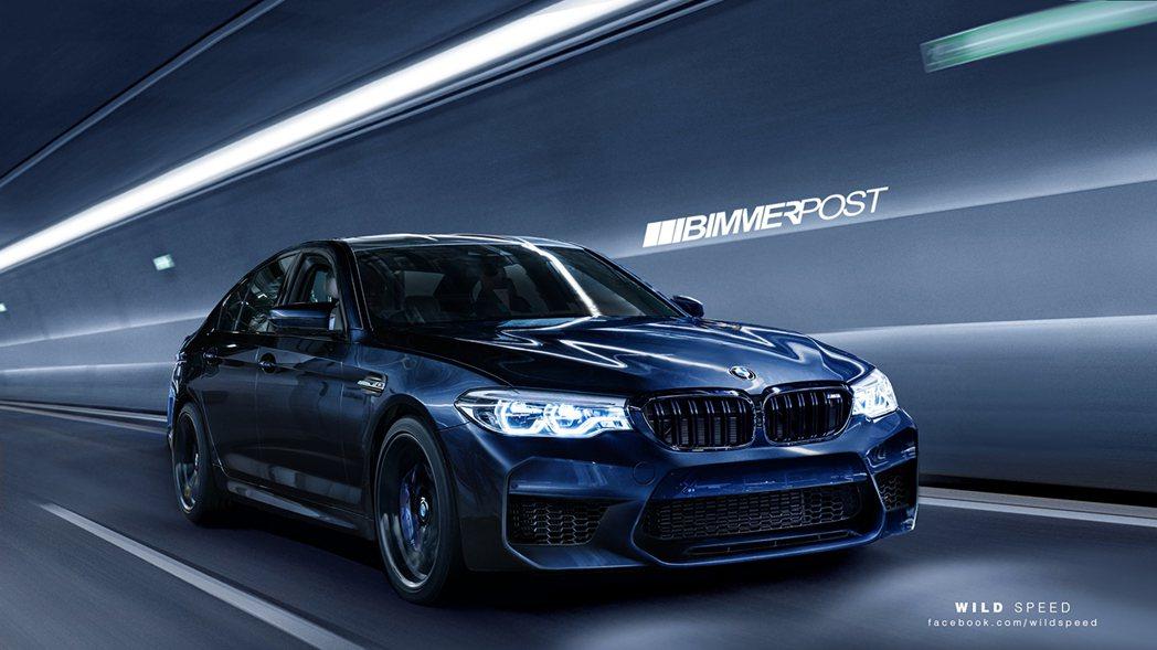全新BMW M5預想圖。圖/摘自Bimmerpost.com
