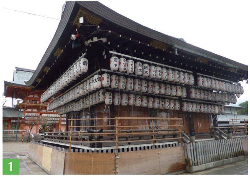 京都最重要的神社──八坂神社。