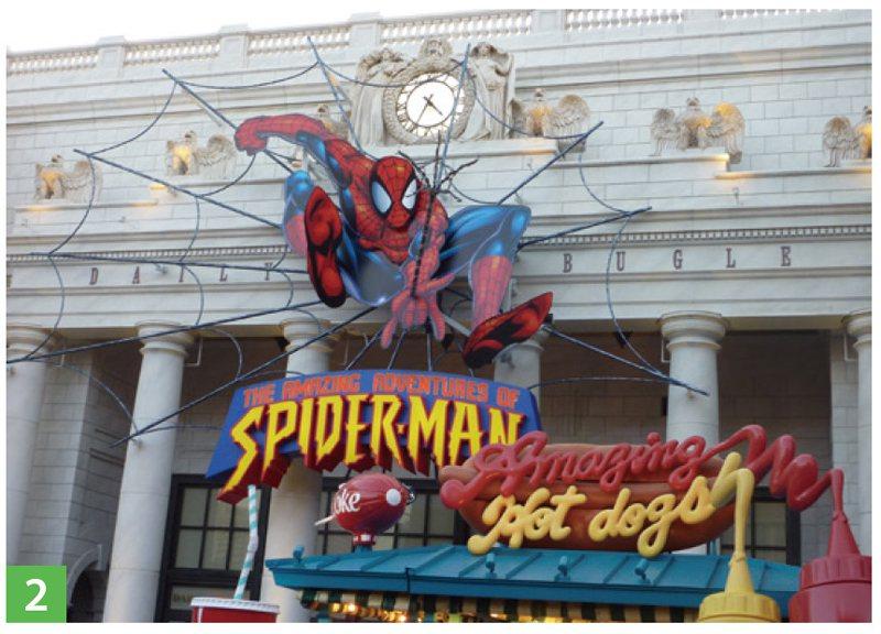 跟隨蜘蛛俠,一起去捉壞人吧!