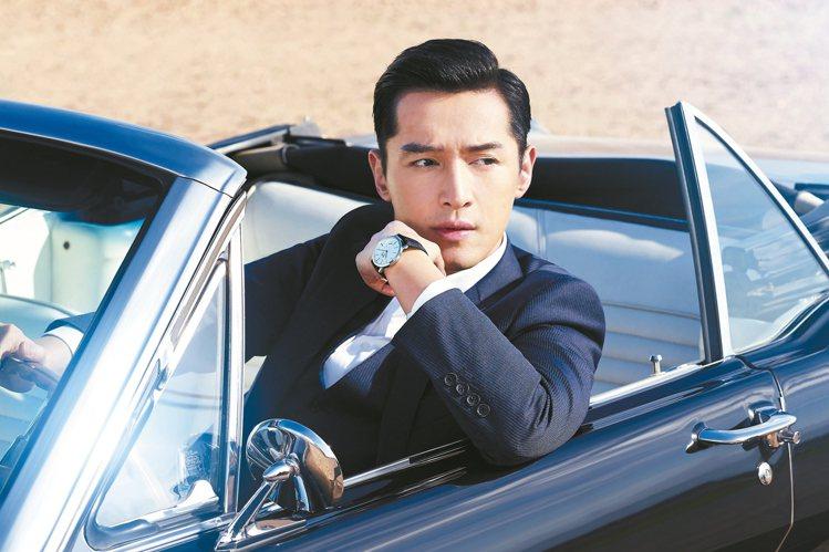 胡歌仍舊是伯爵表的大中華區推廣大使,也是目前唯一的華人男星代言。圖/Piaget...