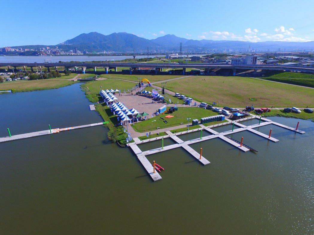 微風運河是世大運游泳馬拉松的場地。 圖/世大運執委會提供