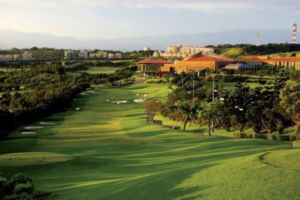 桃園市楊梅區揚昇高爾夫鄉村俱樂部是台灣少數主辦過大型國際賽事的高爾夫球場。 圖/...