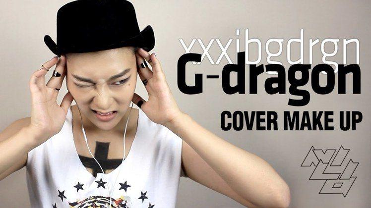 Ssinnim仿妝韓國天團BIGBANG成員GD。圖/擷自twitter