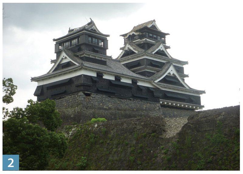 熊本熊是日本三大名城之一。