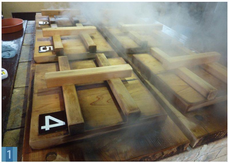 到別府,怎麼能不試試原汁原味的「別府蒸」(即是不加調味料,利用地獄的蒸氣將食物煮...
