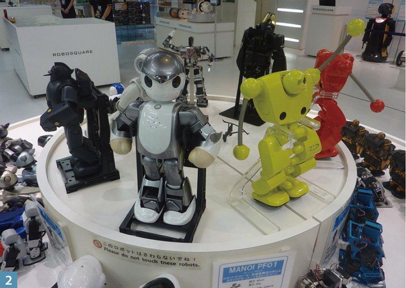 小型機器人看似玩具一樣,但其實都很能幹呢!