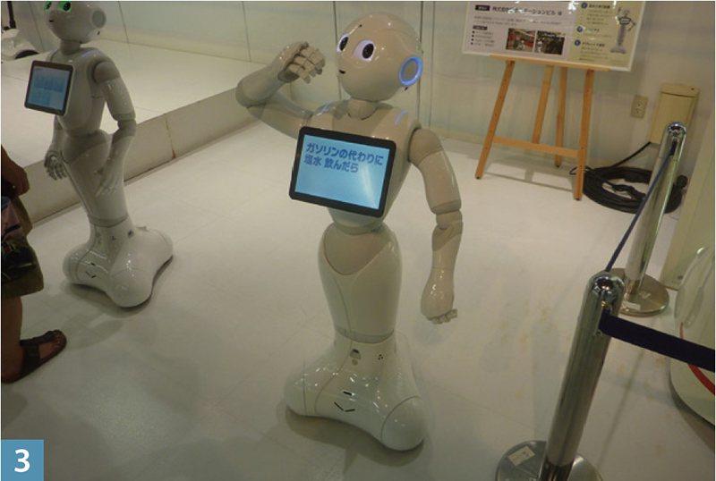 可以和遊客交談,甚至猜出遊客年齡的聰明機器人── Paper 君。