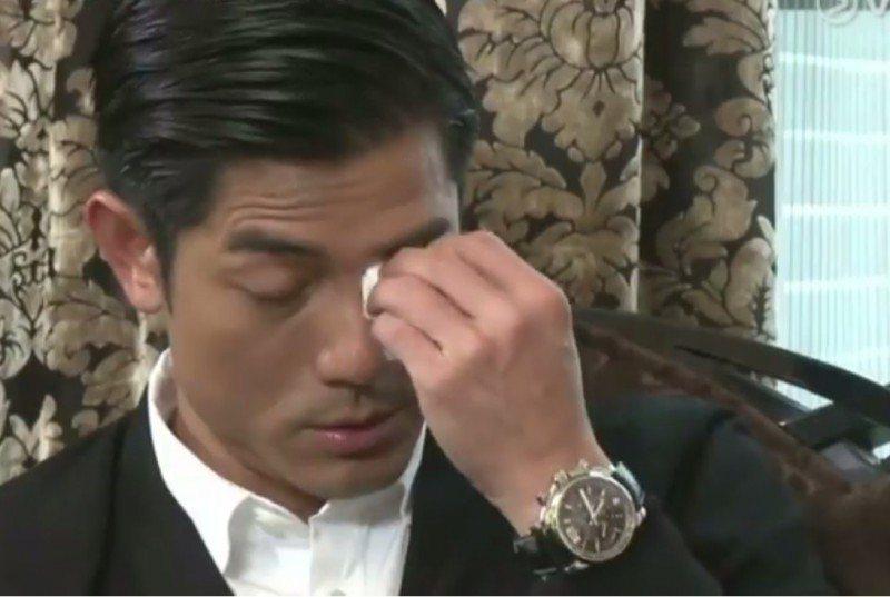 郭富城想起意外去世的哥哥忍不住落淚。圖/截自臉書
