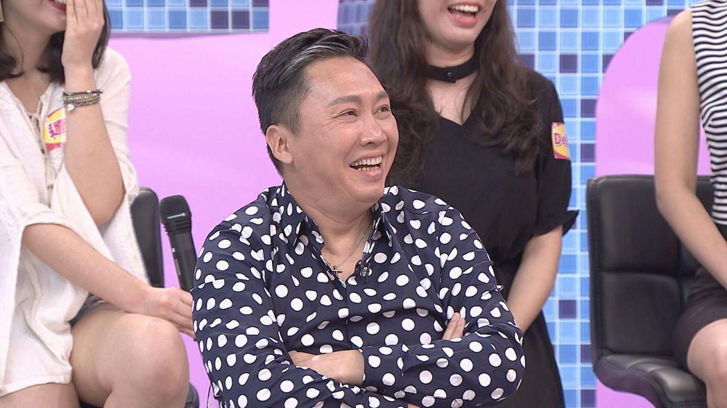 趙正平曾向空姐搭訕。圖/八大電視台提供